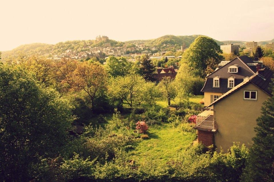 Früher: Höhlsgasse 6, eine Gartenidylle