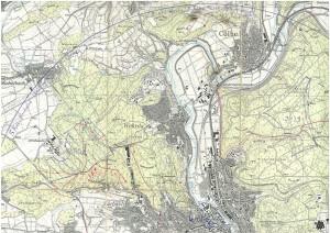Vorrangflächen Marburg-Nord - Messtischblatt