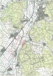 Vorrangflächen Marburg-Süd - Messtischblattd