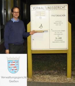 Am 21.06.2015 haben 7 Bürger aus der Nachbarschaft des Vitos-Geländes und Dr. Andreas Matusch Anfechtungsklage beim Verwaltungsgericht Gießen gegen die Rodungsgenehmigung des Kreises eingereicht